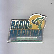 RARE PINS PIN'S .. TV PRESSE RADIO MARITIMA DAUPHIN DOLPHIN~7B