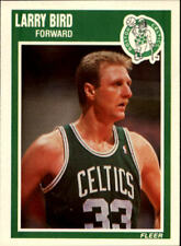 Larry Bird #8 Fleer 1989/90 NBA Basketball Card