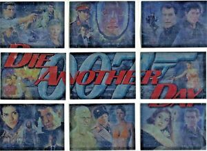 JAMES BOND  DIE ANOTHER DAY CHASE CARD SET  1 TO 9  CHOOSE