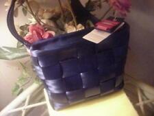 Auth Harveys Seatbelt Bag Indigo Mini Messenger Bag NWT!