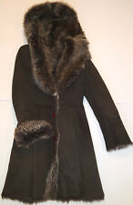 RARE! Bod & Christensen Woman's Shearling Coat, US Size M