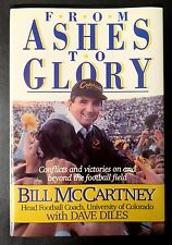 From Ashes to Glory by Bill McCartney, University Of Colorado Football, 1990 HC