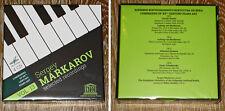 SERGEY MARKAROV SELECTED RECORDS 4CD RARE BOX LUMINARIES OF XX CENTURY PIANO ART