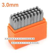 Basic Metal Stamp Set Sans Serif UPPERCASE Numbers 3.0mm (SCE12-3.0mm)