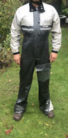 RUKKA Motorbike Waterproof Over Suit Overall Size 34 Barry Sheen Collection