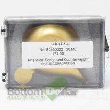 Ohaus 171-00 80850322 30ML Analytical Scoop & Counterweight