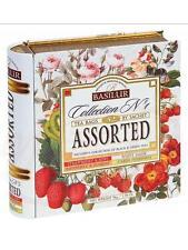 Teemischung aus 4 Teesorten Tea Book Assorti, Collection Nr1 32 Btl