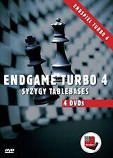 ChessBase: DVD Endspiel Turbo 4 - Schach NEU - Endgame Turbo - SYZYGY TABLEBASES