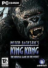 """JEU PC """"KING KONG"""", VERSION FRANCAISE, 3 CD,TRES  BON ETAT"""