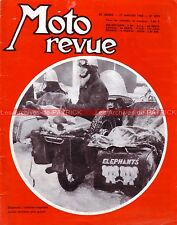 MOTO REVUE 1870 HOREX MUNCH 500 SUZUKI T20 TELEMARK BMW Série 2 /2 Eléphant 1968