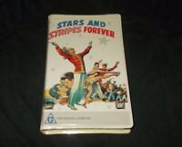 Stars And Stripes Forever VHS Pal John Phillip Sousa Fox Video clamshell