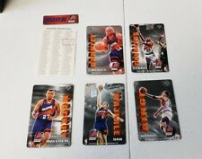 1994 Pro Mags Basketball Team Set Phoenix Suns WITH Team Magnet