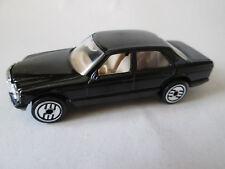 1981 Hot Wheels Black Mercedes-Benz 380 SEL Car w/Ultra Hot Wheels (Mint)