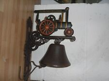 Cast Iron TRACTION ENGINE Bell