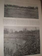 Photo article FA Cup Final Tottenham v Sheffield United 2-2 draw 1901 ref AY