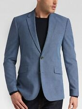 Joseph Abboud Denim Blue Modern Fit Casual Coat size XL