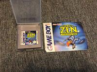 Rare! Zen Intergalactic Ninja Nintendo Game Boy Game NOE German Version +Manual