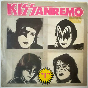 KISS KISSANREMO 45 giri /the Oath Limited Edition Italy only 300 copies