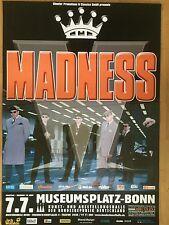 MADNESS 2006 BONN - orig.Concert Poster - Konzert Plakat A1  NEW
