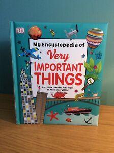 My Encyclopedia of Very Important Things by DK (Hardback, 2016)
