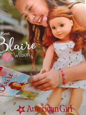 💕American Girl Doll Catalogue Introducing BLAIRE WILSON GOTY January 2019 NEW🍰