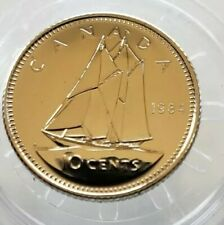 1984 CANADA 10 CENT COIN ~ SPECIMEN COIN ~ UNCIRCULATED ~