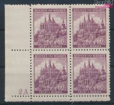 Bohemen en Moravië 27 met Nummerplaat postfris MNH 1939 Ruttenberg (9310333