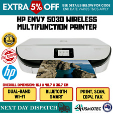 Printer HP ENVY 5030 Wireless Inkjet+ Ink Cartridge Set Bluetooth Multi-Function