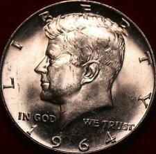 Uncirculated 1964 Philadelphia Mint Silver Kennedy Half