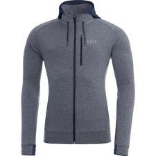 GORE Running Wear ESSENTIAL Hoody - black iris melange Men's M, NWT, MSRP-$130