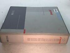 Hp 83598A/83599A Rf Plug-Ins Operation & Assembly Service Manual 83599-90001