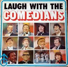 "LAUGH AT THE COMEDIANS.GRANADA TV SHOW.12"" ALBUM*1971*11 TRACKS.VERY GOOD COND."