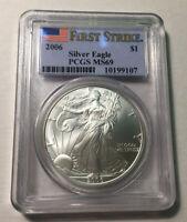 2006 American Eagle Silver Coin MS-69 PCGS