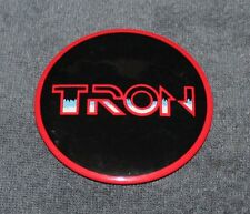 RARE DISNEY MOVIE TRON PIN BACK BUTTON 3 1/2""