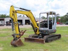 New listing 2017 Wacker Neuson Ez53 Mini Excavator Rubber Tracks Backhoe bidadoo