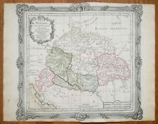 Brion: Original Decorative Map of Hungary Transylvania - 1768(NS)
