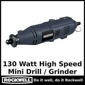 Rockwell Rotary Drill Kit 130w W/ 233 Piece Accessory Kit Like Dremel Type Tool