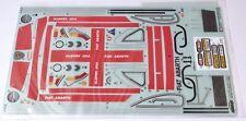 Tamiya 9495631 1/10 Fiat Abarth 1000 TCR Berlina Corse Sticker & Masking Seal