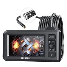 Dual Lens Industrial Endoscope, 1080P Digital Borescope Inspection Camera
