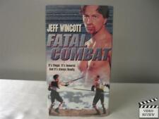 Fatal Combat VHS Jeff Wincott, Phillip Jarrett, Richard Fitzpatrick