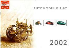 Catalogue Busch Automodelle 2002
