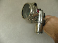 Antique HEADLIGHT CARBIDE Search-Light Bicycle Lamp luxor VINTAGE ACETYLENE