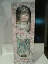"""Kingstate """"Faith"""" Porcelain Girl Doll 16"""" Prestige Collection + Stand and Box"""