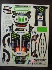 DECALS 1/32 FORD FIESTA RS WRC #21 ATKINSON MEXICO 2012   - COLORADO  32183