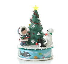 2012 Hallmark FROSTY FRIENDS Magic Cord Ornament TRIMMING THE TREE