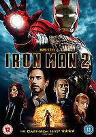 IRON MAN PART 2 DVD MARVEL ORIGINAL UK Robert Downey Jr Movie 2nd Film Two