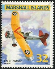 US Army CURTISS FALCON F8C HELLDIVER Biplane Aircraft Mint Stamp (USAAC)