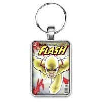The Flash #197 Cover Key Ring or Necklace Reverse Flash Classic Comic Book
