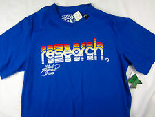 LRG Lifted Research Group skate Tee men's T Shirt blue size MEDIUM