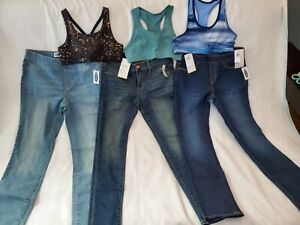 Lot of New girls clothes size 10/12 Old navy pants